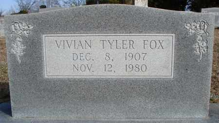 FOX, VIVIAN - Faulkner County, Arkansas | VIVIAN FOX - Arkansas Gravestone Photos