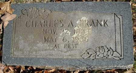 FRANK, CHARLES A. - Faulkner County, Arkansas | CHARLES A. FRANK - Arkansas Gravestone Photos