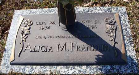 FRANKLIN, ALICIA M. - Faulkner County, Arkansas | ALICIA M. FRANKLIN - Arkansas Gravestone Photos