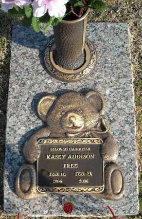 FREE, KASEY ADDISON - Faulkner County, Arkansas | KASEY ADDISON FREE - Arkansas Gravestone Photos