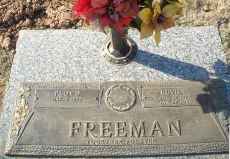 FREEMAN, RUTH V. - Faulkner County, Arkansas | RUTH V. FREEMAN - Arkansas Gravestone Photos