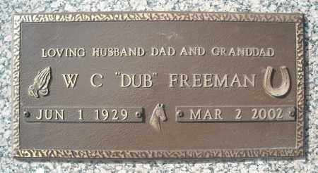 FREEMAN, W.C. - Faulkner County, Arkansas | W.C. FREEMAN - Arkansas Gravestone Photos