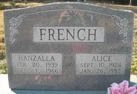 FRENCH, HANZALLA - Faulkner County, Arkansas | HANZALLA FRENCH - Arkansas Gravestone Photos