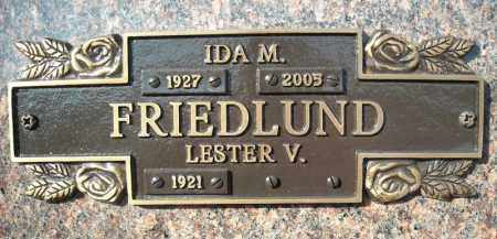 FRIEDLUND, IDA M. - Faulkner County, Arkansas | IDA M. FRIEDLUND - Arkansas Gravestone Photos