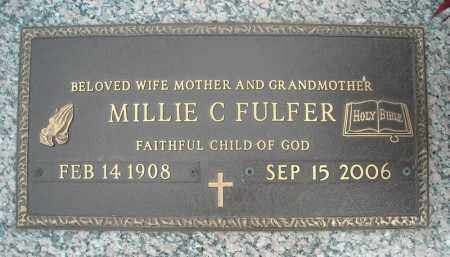 FULFER, MILLIE C. - Faulkner County, Arkansas | MILLIE C. FULFER - Arkansas Gravestone Photos