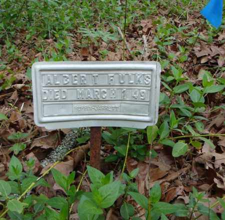 FULKS, ALBERT - Faulkner County, Arkansas | ALBERT FULKS - Arkansas Gravestone Photos