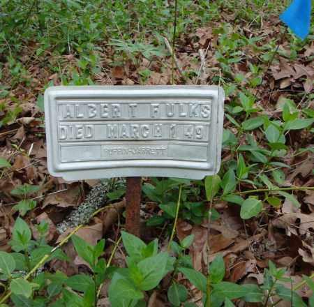 FULKS, ALBERT - Faulkner County, Arkansas | ALBERT FULKS - Arkansas Gravestone Photos