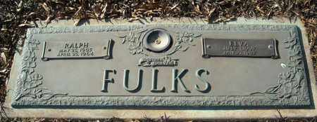 FULKS, RALPH - Faulkner County, Arkansas | RALPH FULKS - Arkansas Gravestone Photos