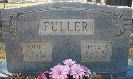 FULLER, BRONNIE - Faulkner County, Arkansas | BRONNIE FULLER - Arkansas Gravestone Photos