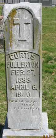 FULLERTON, CURTIS - Faulkner County, Arkansas | CURTIS FULLERTON - Arkansas Gravestone Photos