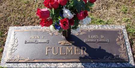 FULMER, LOIS D. - Faulkner County, Arkansas | LOIS D. FULMER - Arkansas Gravestone Photos