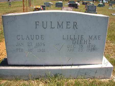FULMER, CLAUDE - Faulkner County, Arkansas | CLAUDE FULMER - Arkansas Gravestone Photos
