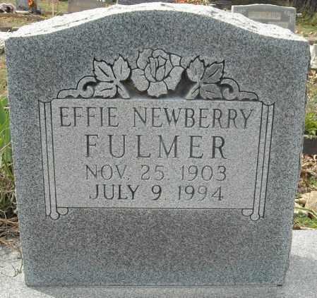 NEWBERRY FULMER, EFFIE - Faulkner County, Arkansas | EFFIE NEWBERRY FULMER - Arkansas Gravestone Photos