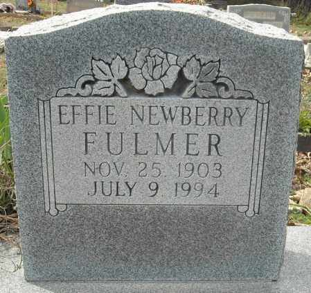 NEWBERRY FULMER, EFFIE JANE - Faulkner County, Arkansas | EFFIE JANE NEWBERRY FULMER - Arkansas Gravestone Photos