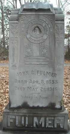 FULMER, JOHN CLARK - Faulkner County, Arkansas | JOHN CLARK FULMER - Arkansas Gravestone Photos