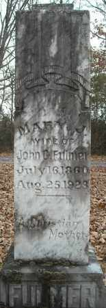 FULMER, MARY J. - Faulkner County, Arkansas | MARY J. FULMER - Arkansas Gravestone Photos