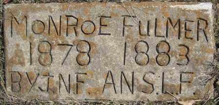 FULMER, MONROE - Faulkner County, Arkansas | MONROE FULMER - Arkansas Gravestone Photos