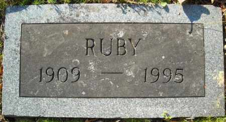 FULMER, RUBY - Faulkner County, Arkansas | RUBY FULMER - Arkansas Gravestone Photos