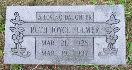 FULMER, RUTH JOYCE - Faulkner County, Arkansas | RUTH JOYCE FULMER - Arkansas Gravestone Photos