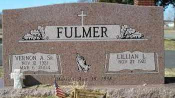 FULMER, SR., VERNON A. - Faulkner County, Arkansas | VERNON A. FULMER, SR. - Arkansas Gravestone Photos