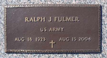 FULMER (VETERAN), RALPH J - Faulkner County, Arkansas | RALPH J FULMER (VETERAN) - Arkansas Gravestone Photos