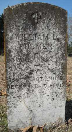 FULMER (VETERAN), WILLIAM L - Faulkner County, Arkansas | WILLIAM L FULMER (VETERAN) - Arkansas Gravestone Photos