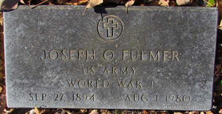 FULMER (VETERAN WWI), JOSEPH OLIVER - Faulkner County, Arkansas | JOSEPH OLIVER FULMER (VETERAN WWI) - Arkansas Gravestone Photos