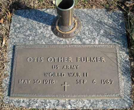 FULMER (VETERAN WWII), OTIS OTHER - Faulkner County, Arkansas | OTIS OTHER FULMER (VETERAN WWII) - Arkansas Gravestone Photos