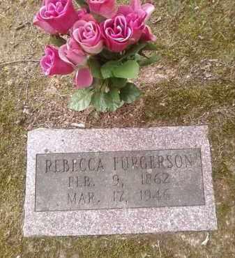 FURGERSON, REBECCA - Faulkner County, Arkansas | REBECCA FURGERSON - Arkansas Gravestone Photos
