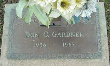 GARDNER, DON C. - Faulkner County, Arkansas | DON C. GARDNER - Arkansas Gravestone Photos