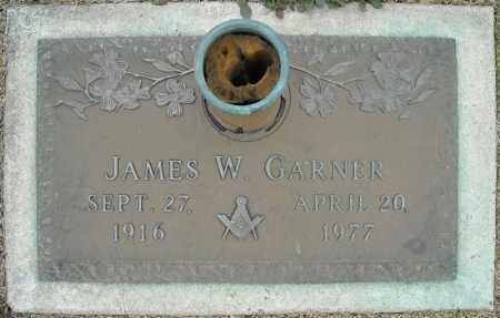 GARNER, JAMES W. - Faulkner County, Arkansas | JAMES W. GARNER - Arkansas Gravestone Photos
