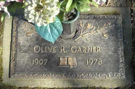 GARNER, OLIVE R. - Faulkner County, Arkansas | OLIVE R. GARNER - Arkansas Gravestone Photos
