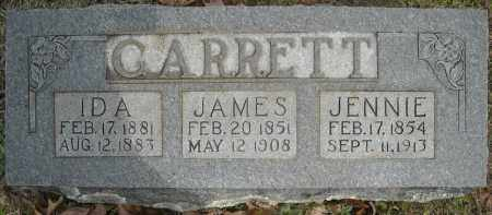 GARRETT, JENNIE - Faulkner County, Arkansas | JENNIE GARRETT - Arkansas Gravestone Photos