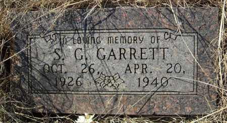 GARRETT, S.G. - Faulkner County, Arkansas | S.G. GARRETT - Arkansas Gravestone Photos