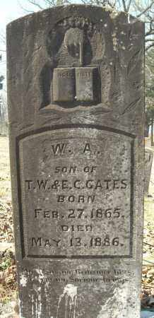 GATES, W.A. - Faulkner County, Arkansas | W.A. GATES - Arkansas Gravestone Photos