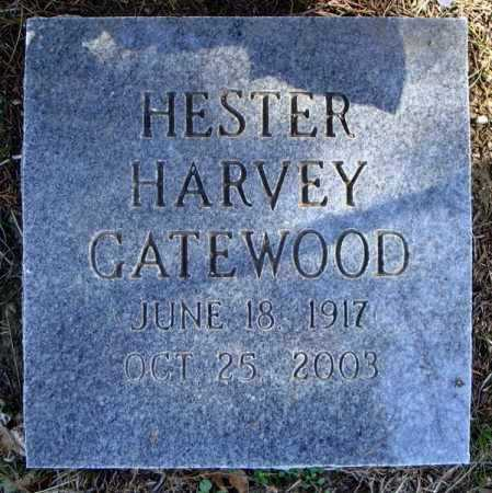HARVEY GATEWOOD, HESTER - Faulkner County, Arkansas | HESTER HARVEY GATEWOOD - Arkansas Gravestone Photos