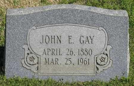 GAY, JOHN E. - Faulkner County, Arkansas | JOHN E. GAY - Arkansas Gravestone Photos