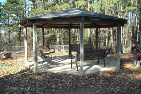 *GAZEBO AT MCGINTYTOWN,  - Faulkner County, Arkansas |  *GAZEBO AT MCGINTYTOWN - Arkansas Gravestone Photos