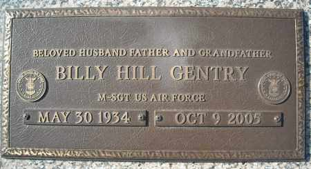 GENTRY (VETERAN), BILLY HILL - Faulkner County, Arkansas | BILLY HILL GENTRY (VETERAN) - Arkansas Gravestone Photos