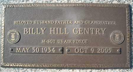 GENTRY (VETERAN), BILLY HILL - Faulkner County, Arkansas | BILLY HILL GENTRY (VETERAN) - Arkansas Gravestone Photos