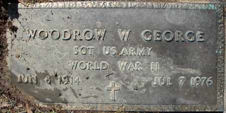 GEORGE (VETERAN WWII), WOODROW W - Faulkner County, Arkansas | WOODROW W GEORGE (VETERAN WWII) - Arkansas Gravestone Photos
