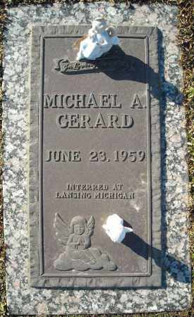 GERARD, MICHAEL A. - Faulkner County, Arkansas | MICHAEL A. GERARD - Arkansas Gravestone Photos