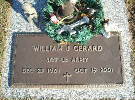 GERARD (VETERAN), WILLIAM J - Faulkner County, Arkansas | WILLIAM J GERARD (VETERAN) - Arkansas Gravestone Photos