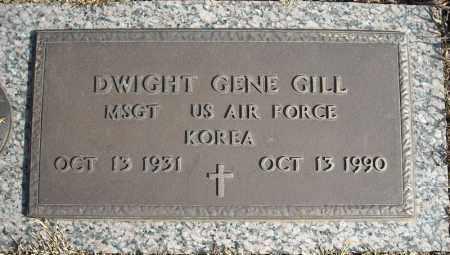 GILL (VETERAN KOR), DWIGHT GENE - Faulkner County, Arkansas | DWIGHT GENE GILL (VETERAN KOR) - Arkansas Gravestone Photos