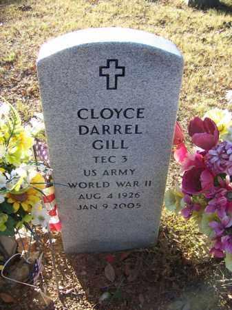 GILL (VETERAN WWII), CLOYCE DARREL - Faulkner County, Arkansas | CLOYCE DARREL GILL (VETERAN WWII) - Arkansas Gravestone Photos