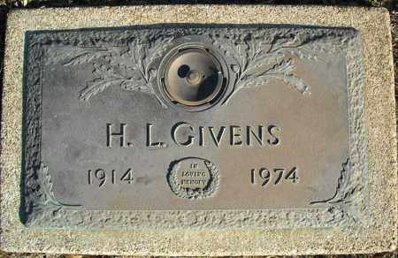 GIVENS, H.L. - Faulkner County, Arkansas | H.L. GIVENS - Arkansas Gravestone Photos