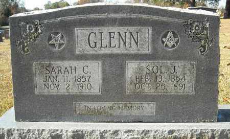 GLENN, SOL J. - Faulkner County, Arkansas | SOL J. GLENN - Arkansas Gravestone Photos