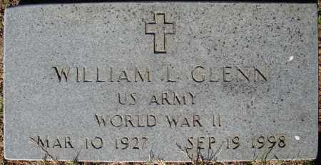 GLENN (VETERAN WWII), WILLIAM L - Faulkner County, Arkansas | WILLIAM L GLENN (VETERAN WWII) - Arkansas Gravestone Photos