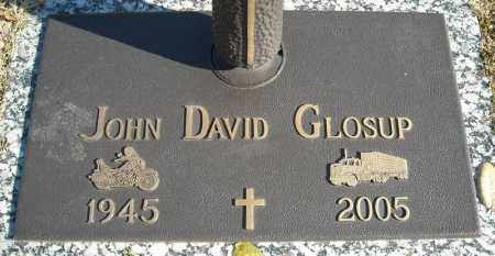 GLOSUP, JOHN DAVID - Faulkner County, Arkansas | JOHN DAVID GLOSUP - Arkansas Gravestone Photos