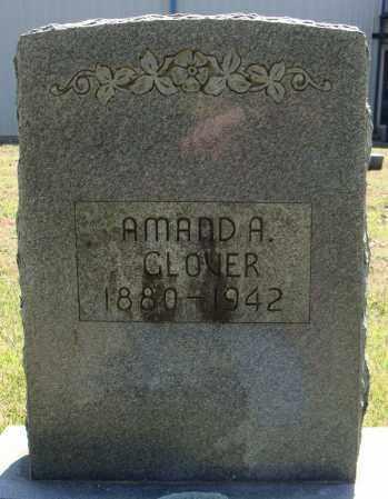 GLOVER, AMANDA - Faulkner County, Arkansas   AMANDA GLOVER - Arkansas Gravestone Photos